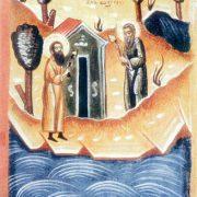 Sfîntul preacuviosul Gherman (de la Solovețk)-  format  mare